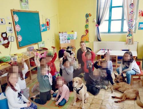 Μια εκπαιδευτικός βάζει το θέμα της φιλοζωίας στα σχολεία