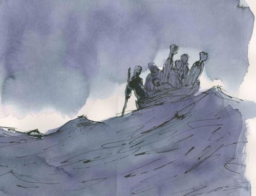 Προφητική έκθεση από τον Sir Quentin Blake