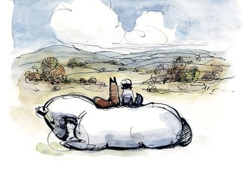 Οι ιστορίες του Κατ Γάτοβιτς: Το αγόρι, ο τυφλοπόντικας, η αλεπού και το άλογο