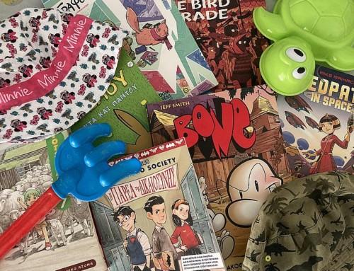 Κόμικς στη βαλίτσα των διακοπών