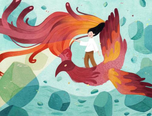 Η Vivian Mineker εικονογραφεί ποιήματα του Robert Frost